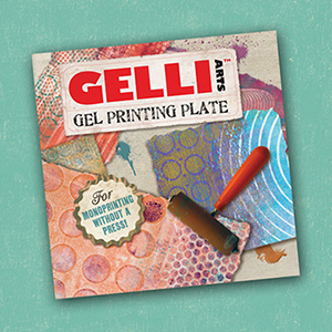 GELLI 6X6 GEL PRINTING PLATE